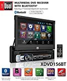 "Dual Electronics XDVD156BT Multimedia Retractable & Detachable 7"" LED Backlit LCD Touchscreen Single"