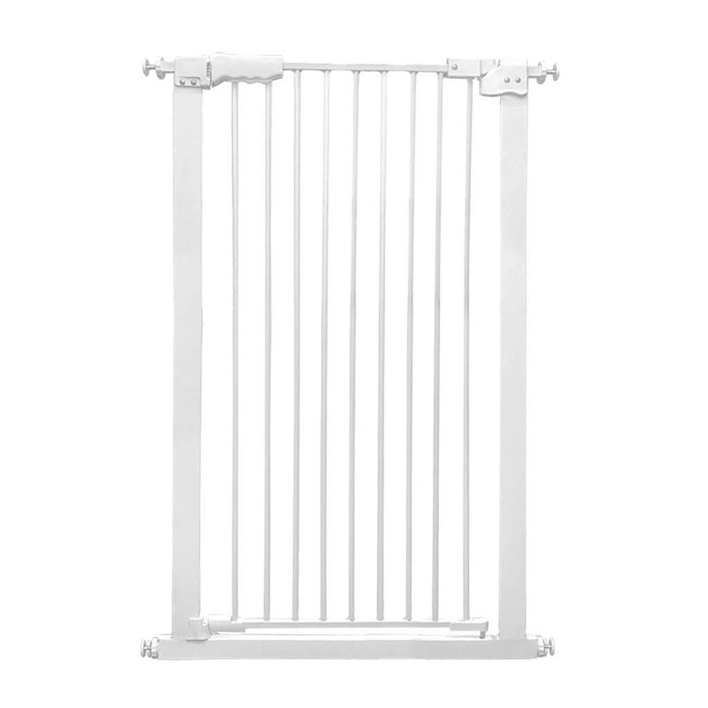 61-71cm MBD Indoor Safety Gates Extra Tall Pet Gate for Dogs Cats Extra Wide Baby Barrier for Doorways Stair Hallway White Metal 61-168cm Wide (Size   61-71cm)