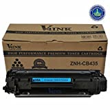 V4INK ® New Compatible CB435A 35A/CE285A Toner Cartridge 1,500 Page Yield for LaserJet P1002 P1003 P1004 P1005 P1006 1009 P1102 P1102w