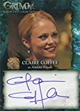 Grimm Season 2 Autograph Card CCA Claire Coffee as Adalind Schade