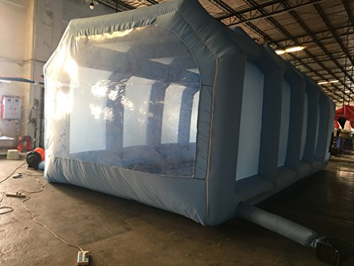 Inflatable Spray Booth Custom Tent Car Paint Booth Inflatable Car (26x13x10Ft) by LIVIQILY (Image #2)