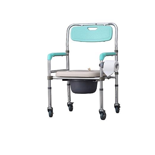 Gquan Andador de Aluminio Plegable Altamente Ajustable y ...