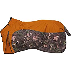 Tough 1 600D Camo Turnout Sheet 81 Orange
