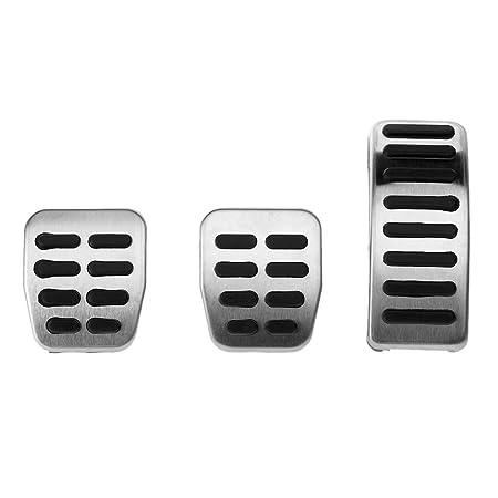 3 piezas de coche Kit de pedal Pedal de Pie Cubierta Pad resto ...