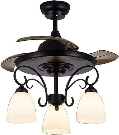 Ventiladores de techo con lámpara Luz Invisible Techo para ...