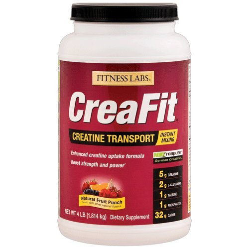 Fitness Labs CreaFit Creatine Transport Fruit Punch, 4 Pounds