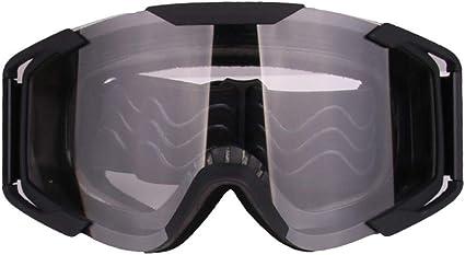 Keenso Motocross ATV Dirt Bike Off Road Goggle Adulto Racing Gafas Antirayas UV Antiara/ñazos Ojos Protecci/ón Bendable Eyewear para esqu/í Ciclismo Ciclismo Ciclismo Escalada Gafas de motocicleta
