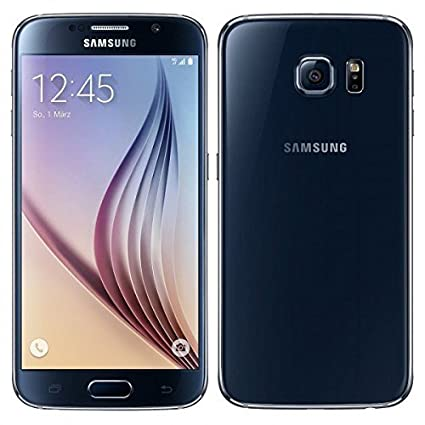 Samsung Galaxy S6 Smartphone (5.1 Zoll Touch-Display, 32 GB Speicher, Android 5.0) schwarz (Generalüberholt)