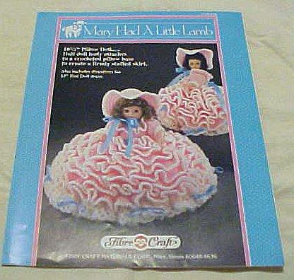 Mary Had A Little Lamb FCM164 Doll Crochet Cloths 1989 (10 1/2