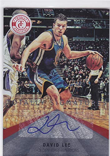 - 2012-13 TOTALLY CERTIFIED DAVID LEE AUTO AUTOGRAPH /25