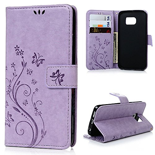 LW Shop Samxung Leather Magnetic Butterfly product image