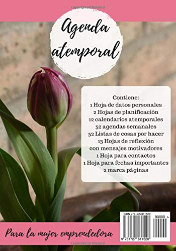 Agenda para la mujer emprendedora (Spanish Edition): Sherami ...