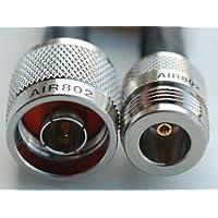AIR802 CA240 Antenna Cable, N Plug-Male to N Jack-Female, 10 Feet (3.05 m)