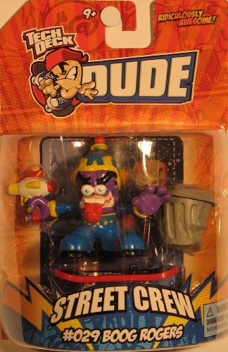 Tech Deck Dude Ridiculously Awesome Street Crew Series - #029 BOOG ROGERS