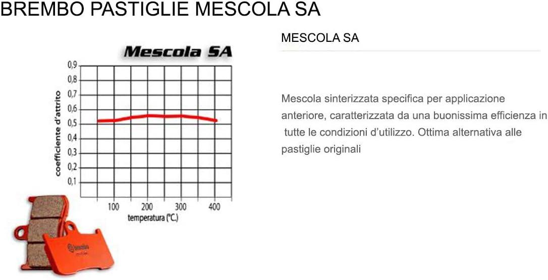 Pastiglie Brembo Freno Anteriori 07BB37.SA per BRUTALE 1090 2013 2015