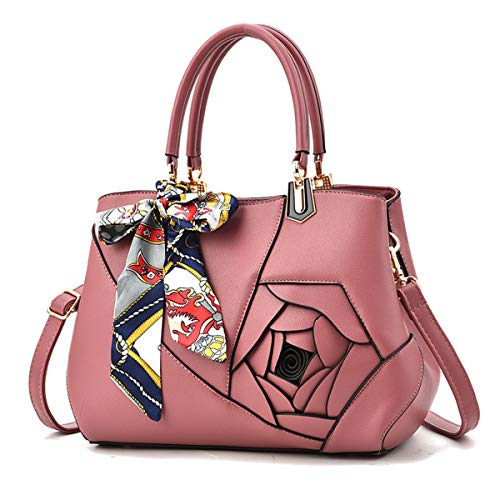 3D sac Rouge à la 5 personnalité bandoulière bandoulière 2018 à rose de LUXIAO main à mode nouvelle sac décontracté bandoulière Rose sac xwTqnR8Y