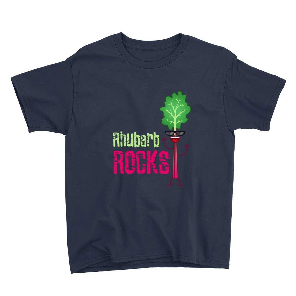 Rhubarb Rocks Youth T-Shirt