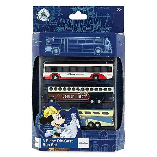 Disney World Die Cast Bus Set