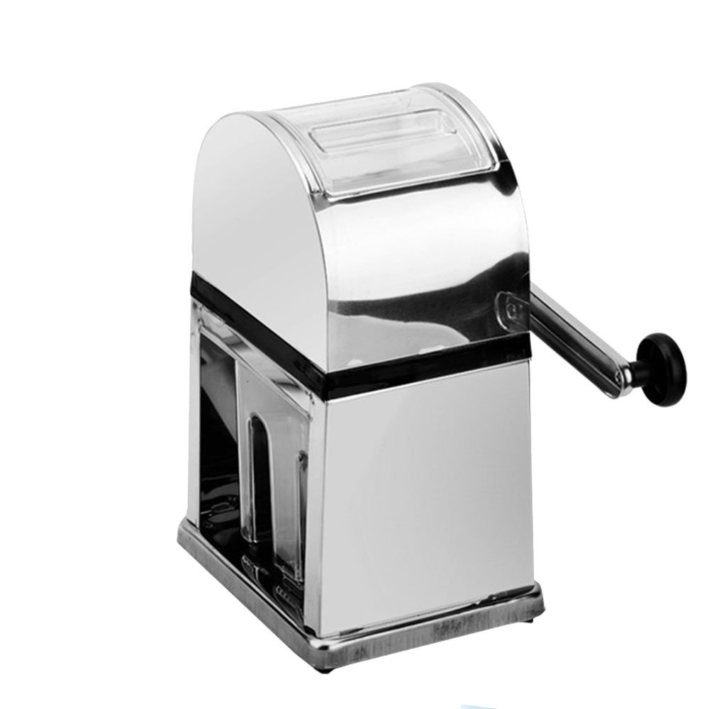 ufengke High Quatity Stainless Steel Square Portable Hand Crank Ice Crusher by ufengke kitchen
