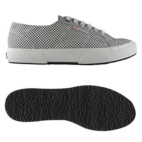 29 UK 2 White FABRICSHIRTU 45 29 1 924 Chaussures homme 45 cm 10 2750 pour Optical EU Black et femme Superga qHvT6ExU