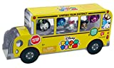 Disney Tsum Tsum Metallic Limited Edition Figures School Bus Pack