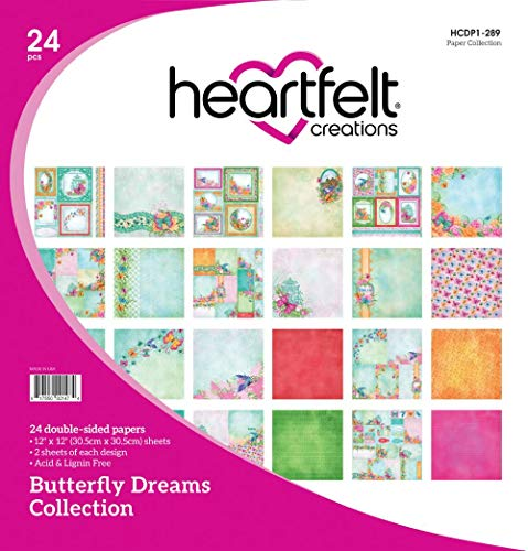 - Heartfelt Creations Double-Sided Paper Pad 12