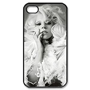YYCASE Customized Print Lady Gaga Pattern Back Case for iPhone 4/4S