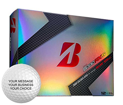Bridgestone B330RXS Personalized Golf Balls - Add Your Own Text (12 Dozen) by Bridgestone Custom (Image #1)