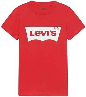 Camiseta para niño Manga Corta Levis NP10027-9E8157 R6W: Amazon.es: Ropa y accesorios