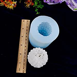 3D Pine Cone Silicone Candle Mold Handmade Soap Mould