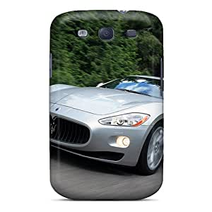 Durable Defender Case For Galaxy S3 Tpu Cover(mazerati In The Woods)