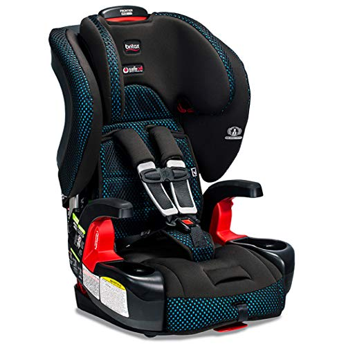 Britax Frontier ClickTight Harness-2-Booster Car Seat - 2 Layer Impact Protection - 25 to 120 Pounds, Cool Flow Ventilating Fabric, - 2 Seat Fabric