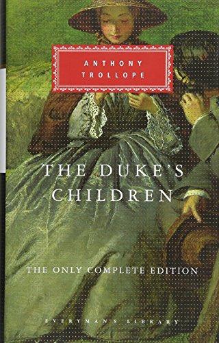 Book cover for The Duke's Children