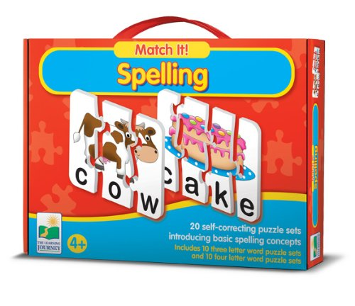 Birthday Gift Ideas For 4 Year Old Boys The Learning Journey Match It Spelling