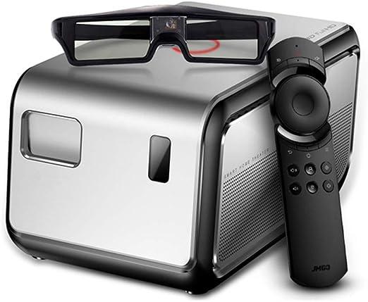 Uncle tribe Inteligente [proyector] 3D en casa HD 300 Pulgadas de ...