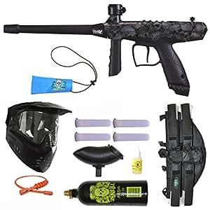 Tippmann Gryphon FX Paintball Marker Gun 3Skull 4+1 BC Mega Set - Skulls