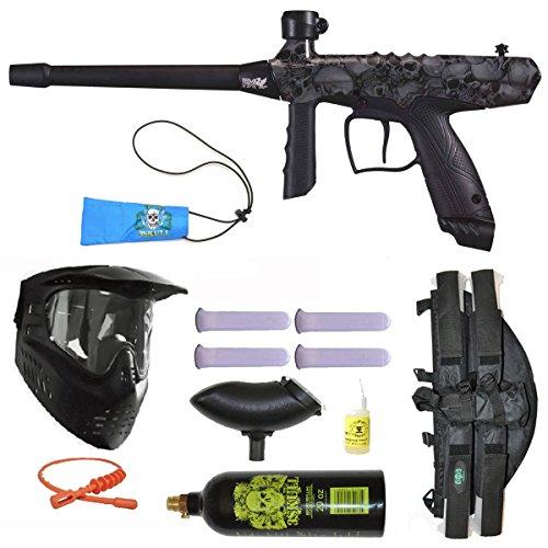 3Skull Tippmann Gryphon FX Paintball Marker Gun 4+1 BC Mega Set - Skulls ()
