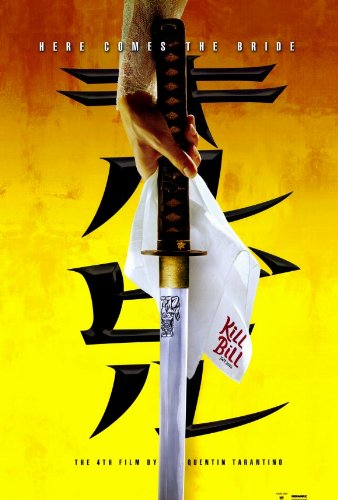 Kill Bill Vol. 1 Poster C Uma Thurman Lucy Liu Vivica A. Fox