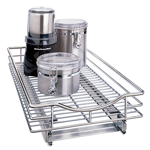 chrome cabinet shelf - 2