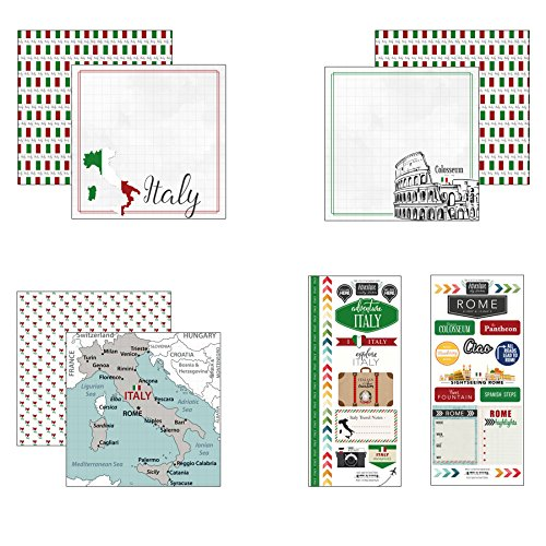 (Scrapbook Customs Italy Adventure Scrapbook)