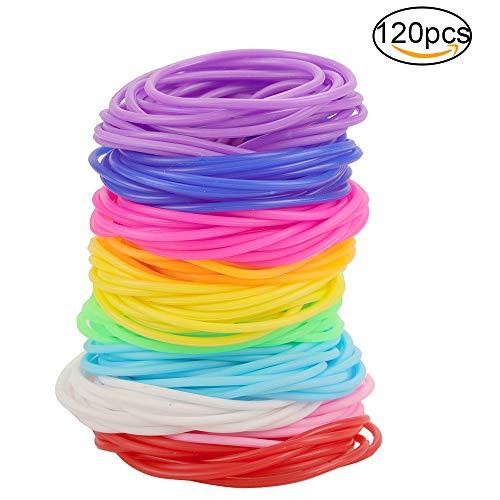 jelly hair elastics - 2