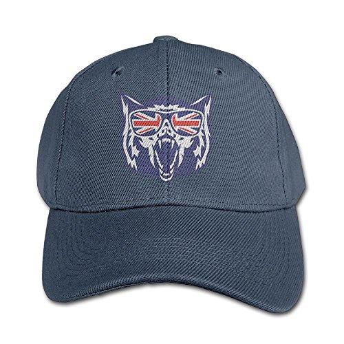 Chqeilng Oii Solid Color Caps English Flag Glassea Wolf Head For Boys-Girl Baseball - Glassea Sun
