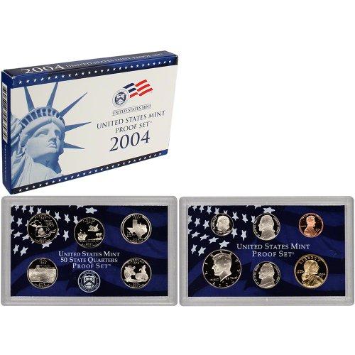 2004 S US Mint Proof Set OGP (Texas Coin Set)