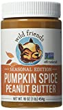 Wild Friends Foods Pumpkin Spice Peanut Butter, 16 oz Jar