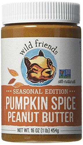 Wild Friends Foods Pumpkin Spice Peanut Butter, 16 oz Jar by Wild Friends Foods