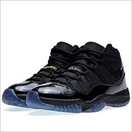 best website e4427 467f6 Amazon.com  Air Jordan 11 Gamma Blue High Black Gamma Blue-Varsity Maize  378037-006 Patent Leather Basketball Men Shoe (12.5) (0686907527316)  Books