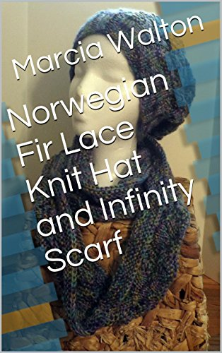 Norwegian Fir Lace Knit Hat and Infinity - Fir Fashion