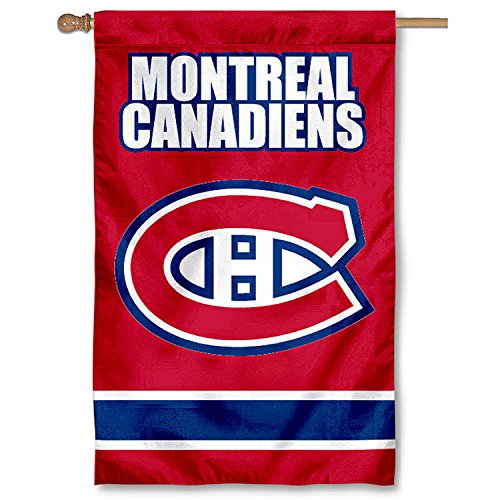 NHL 2-Sided Appliqué Banner Flag, Montreal Canadians (Sided Applique)