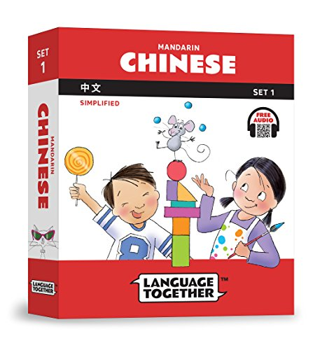 Chinese for Kids: 10 First Reader Books with Online Audio, Pinyin, Simplified Characters (Beginning to Learn Mandarin) Set 1 by Language Together by Language Together