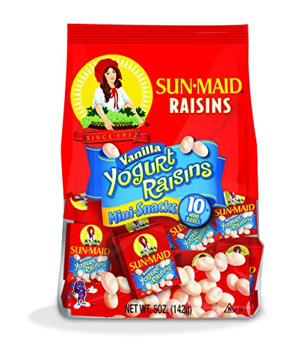 Pantry Pack Mini - Sun-Maid Vanilla Yogurt Raisins, 5 oz, 10 ct
